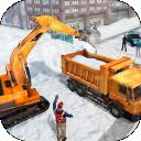 Degso Snow Heavy Excavator Simulator