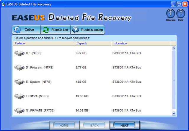 Aflaai EASEUS Deleted File Recovery
