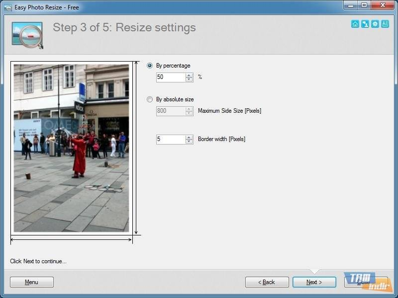 Download Easy Photo Resize