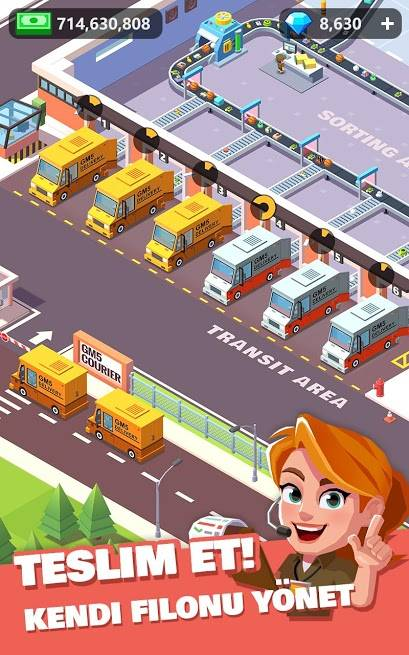Download Idle Courier Tycoon