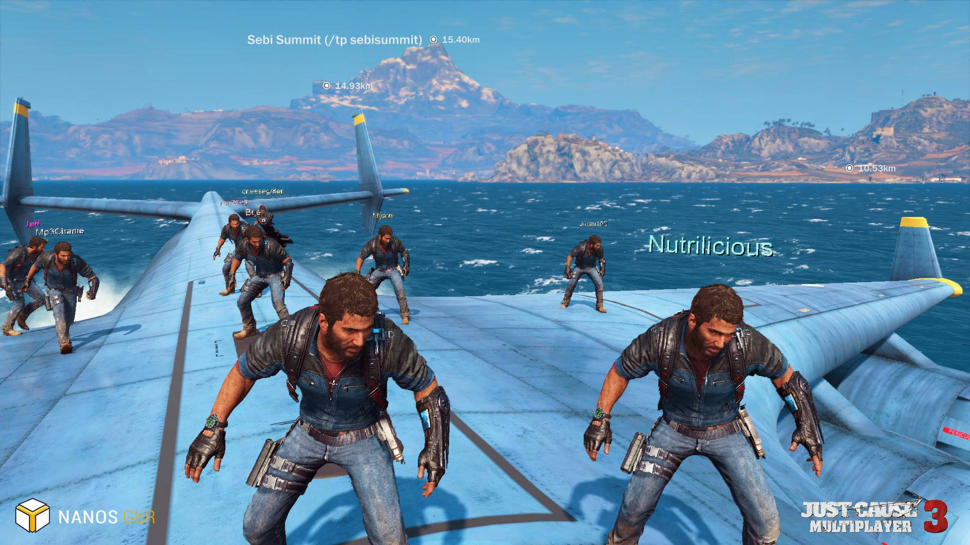 Aflaai Just Cause 3: Multiplayer Mod
